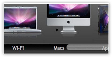 Apple Style slider
